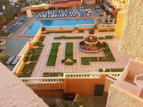 Apartamentos Caribe: Mini golf