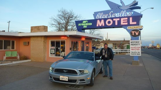 Blue Swallow Motel: Route 66 Trip Januar 2014, Gruß an alle, Andreas
