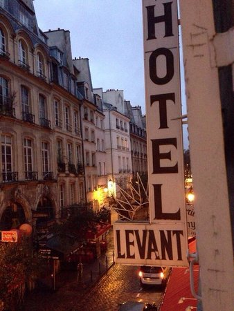 Hotel du Levant : 窓から