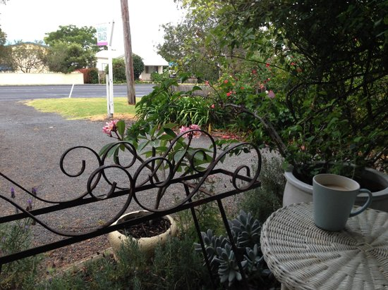 Huskisson Bed and Breakfast : Perfect spot for a cuppa