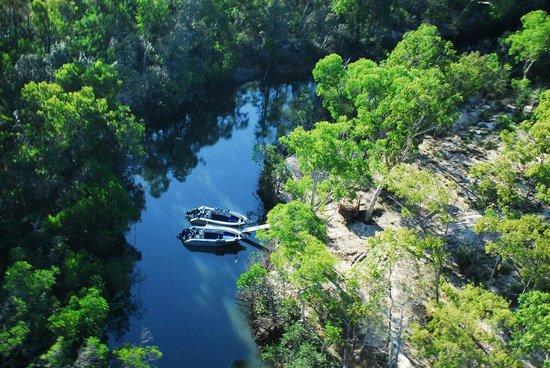 Johnson River Camp, remote and wild.