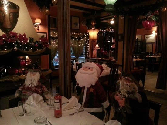 Restoran Tabor: Santa Clause is coming to town