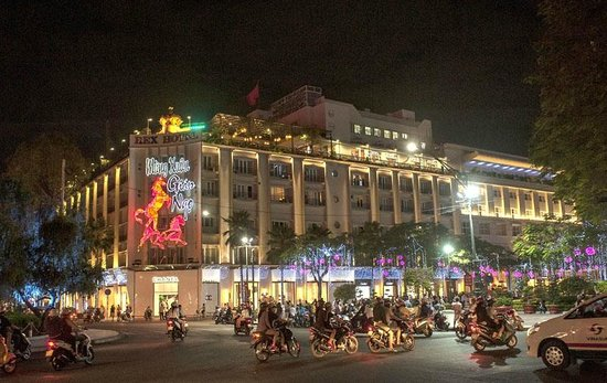 Rex Hotel during Tet Celebrations