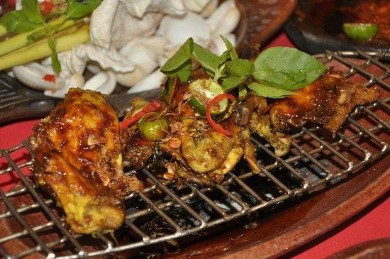 Lara Djonggrang: Grilled Chicken, but I forgot the exact name of this dish.
