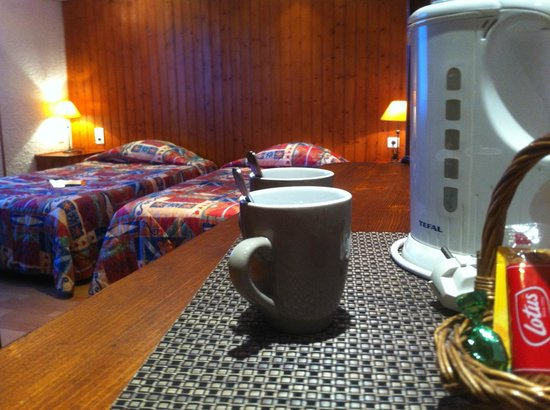 hotel les Tilleuls : chambre twin