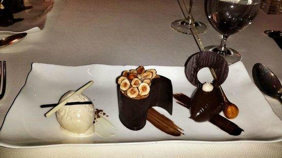 Gidleigh Park Hotel: Chocolate Trio