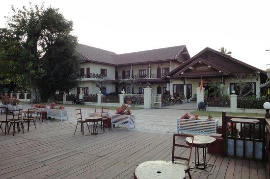 Don Khong, Laos: この地域では高級ホテル