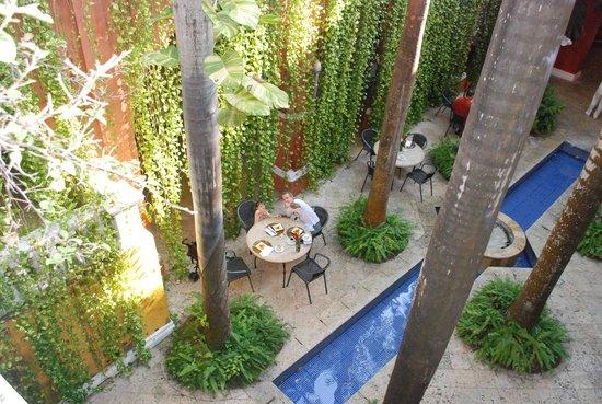 Casa Pestagua Hotel Boutique, Spa: Este es el lugar donde se deyasuna