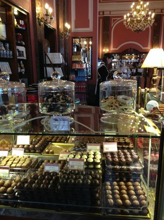 Polonia Palace Hotel: E Wedel's Chocolate Shop - a step back in time