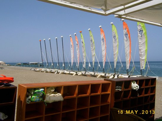 Club Med Palmiye: Sailing