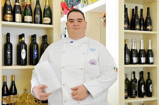 Palagiano, Italia: Il Patron Chef e titolare