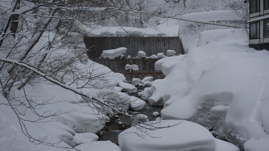 Taenoyu : 川と滝