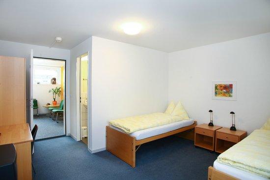 Eckstein: Zweibettzimmer