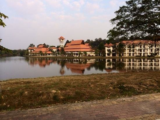 Green Lake Resort: hotel face au lac