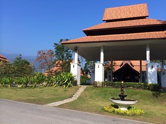 Green Lake Resort: entrée de l'hotel