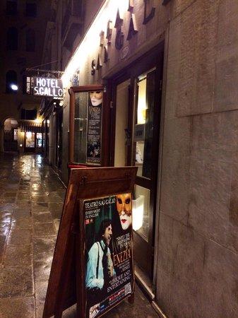 Teatro San Gallo : Outside the theatre
