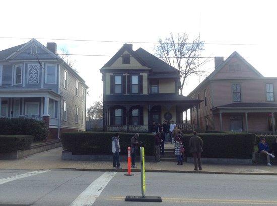 Martin Luther King Jr. National Historic Site: Casa onde ele nasceu