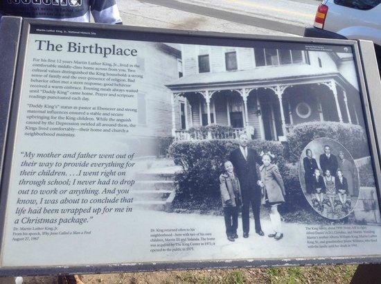 Martin Luther King Jr. National Historic Site: Detalhe
