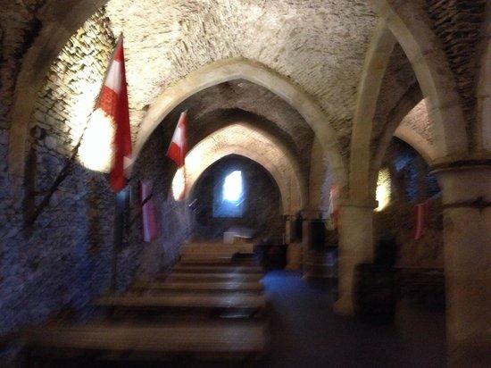 Chateau de Vianden: Wijn kelder