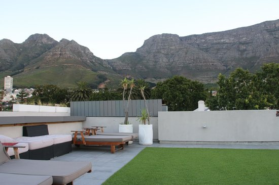 The Three Boutique Hotel: View from roof top patio