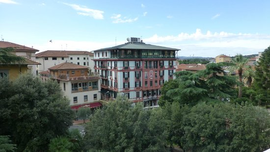 Grand Hotel & La Pace: view from our balcony