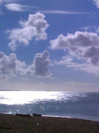 Turtle Beach by Rex Resorts: The clouds are in love!
