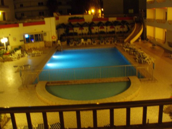 Blue Sea San Anton: the pool from our room