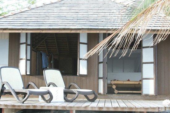 Tevahine Dream : il bungalow visto dall'esterno