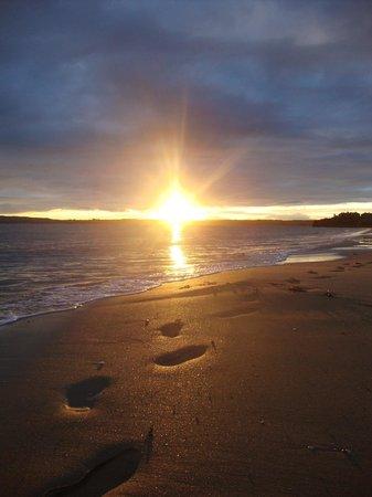 Sunset on Duncannon Beach