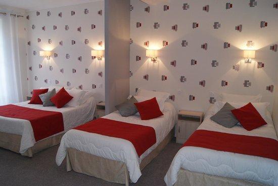 Hôtel des Platanes: chambre familiale