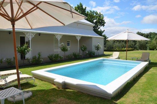 Kloovenburg Pastorie: pool