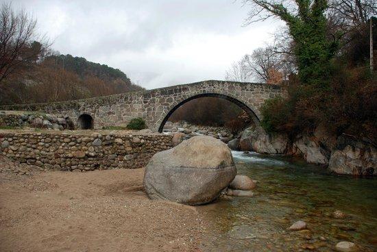 Parador de Jarandilla de la Vera: Puente.