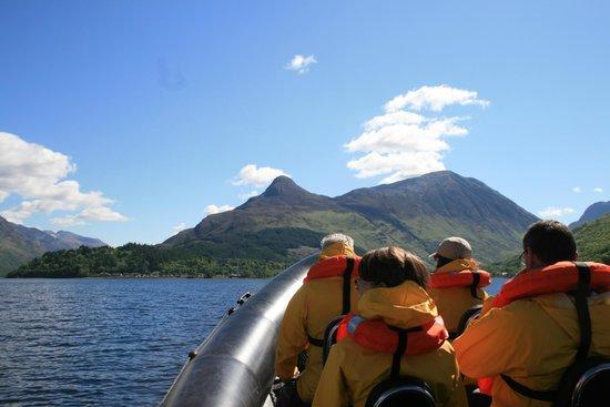Seaxplorer: Looking towards the Pap of Glencoe