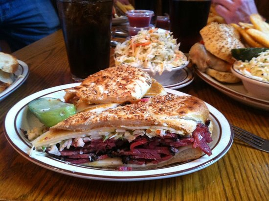 Sam LaGrassa's: Chipotle Pastrami with 'slaw