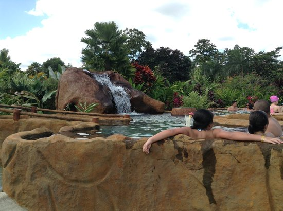 Volcano Lodge & Springs: Our Hot Springs