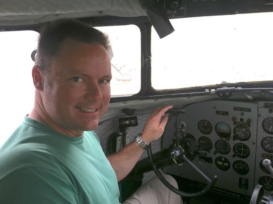 EAA Air Museum : I got type-rated in a DC-3, but wish I had more time in type. Nice for a rainy day in the Keys,