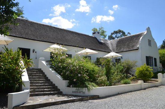 De Kloof Luxury Estate: manorhouse