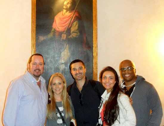 Hotel Columbus: Emiliano Mochi from Eyes Of Rome private tours with us.