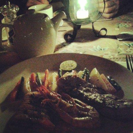 GaRaSi Restaurant, Bar & Coffeegarden: food