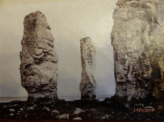 Cliché de 1890 ramené de Old Harry Rocks par Hélène LEGRY (1867-1956) ma grand-mère. Georges COO