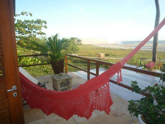 Casa na Praia: vista da varanda da suíte