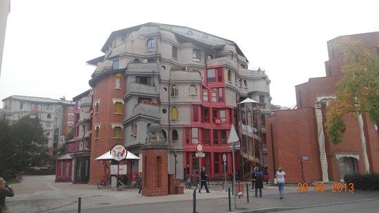 Schtroumph Buildings: как игрушки