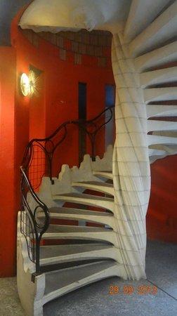 Schtroumph Buildings: лестница в подъезде
