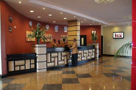 The Boma Nairobi: Main Lobby
