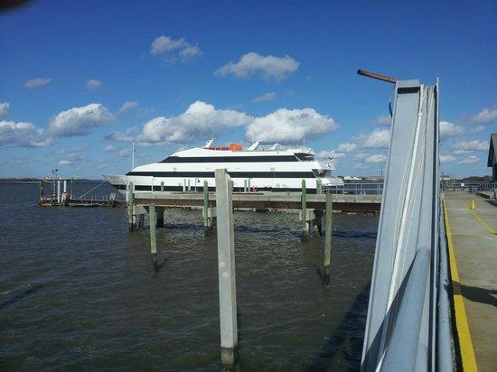 Jekyll Island Club Resort: On the sea