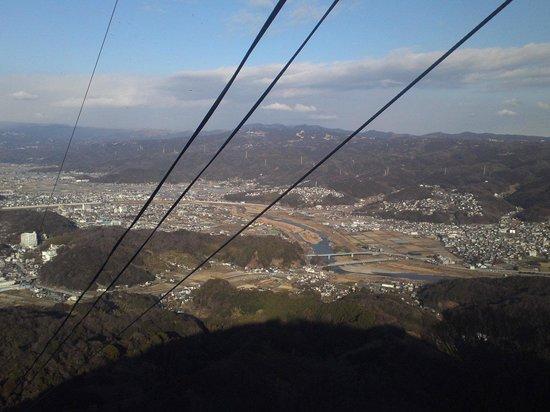 Izunokuni Panorama Park: ロープウェイから