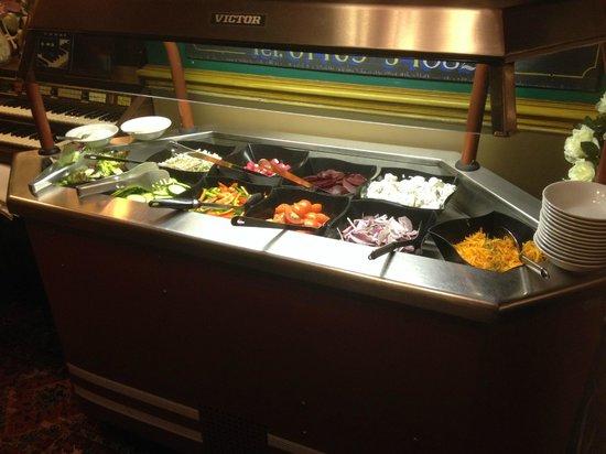 Black Bull Inn: Salad bar