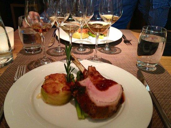 """Delicious meals at """"Wirtschaft zur Alten Post"""""""