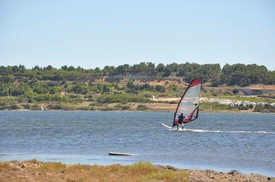 Spot windsurf camping Le Fun