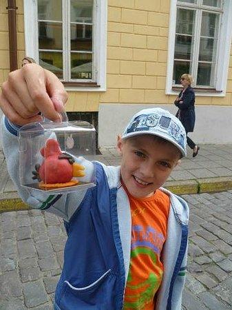 Tallinn Old Town: Конфета из марципана своими руками